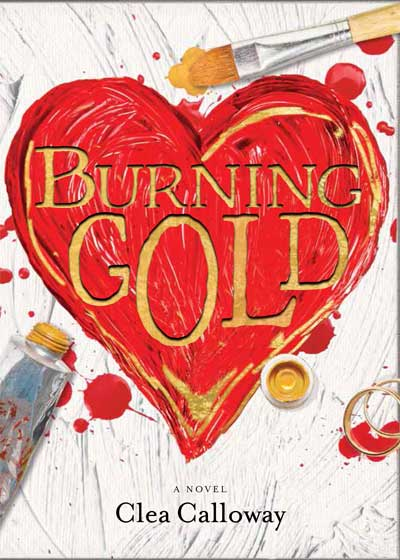 Burning Gold - Book Cover