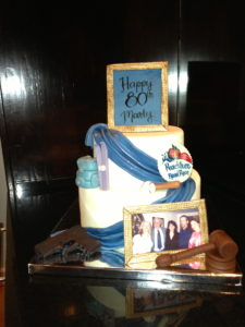 Daddy 80th Birthday Cake